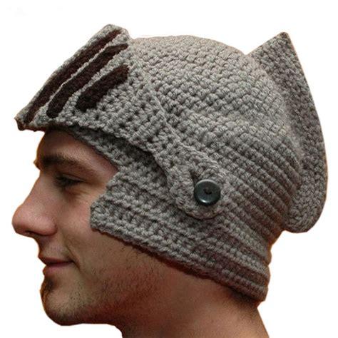 novelty new helmet caps cool handmade knit