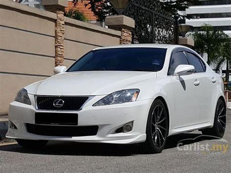 white lexus 2009 lexus is250 2009 luxury 2 5 in penang automatic sedan