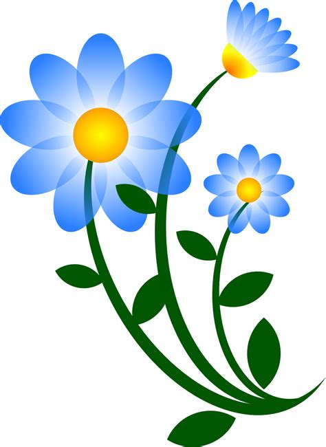 free printable easter flowers easter flowers clip art clipart best