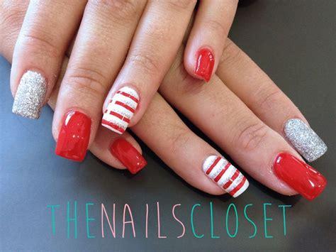 imagenes de uñas rojas con plateado 72 best images about thenailscloset on pinterest