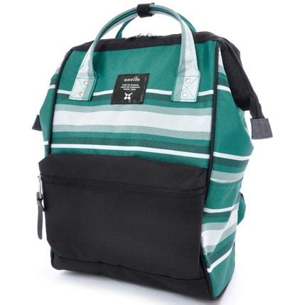 Tas Divinces Holdarm Series Tas Laptop Backpack 3 In 1 Mode Anello Tas Ransel Stripe Series Size L Green Black