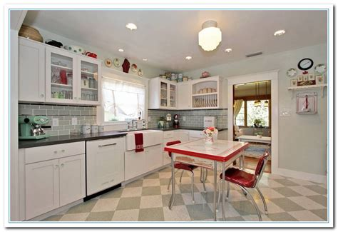 Retro Kitchen Design Ideas Information On Vintage Kitchen Ideas For Vintage Design Home And Cabinet Reviews