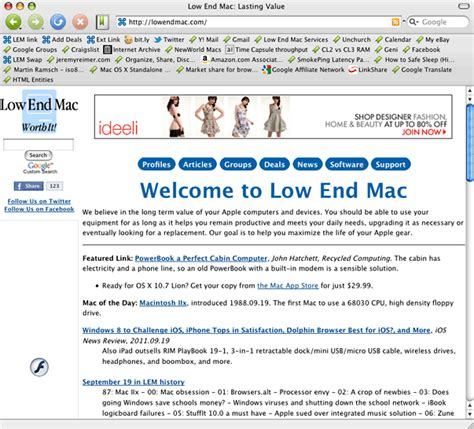 tenfourfox and flash the future of powerpc macs on the