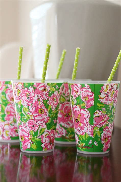 Lilly Pulitzer Decorations by Kara S Ideas Monograms Lilly Themed Preppy