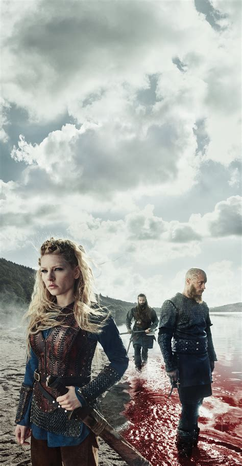 does ragnar get back with his first wife vikings tv series vikings season 3 promotional picture