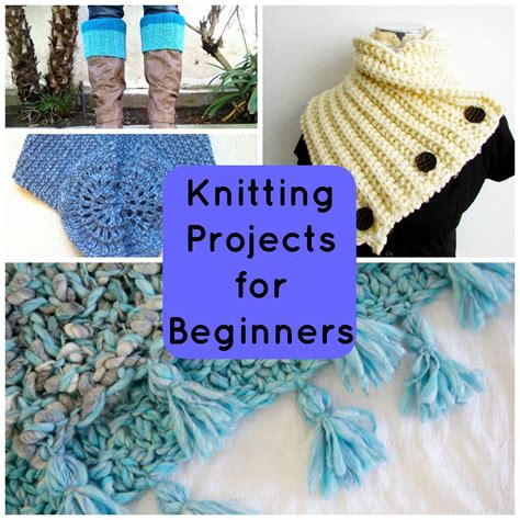 knit projects not boring knitting patterns for beginners