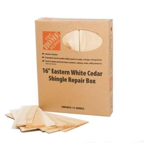 16 in eastern white cedar shingles repair kit 12 sq ft