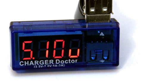 Usb Doctor Charger Volt Er the portable led usb multimeter that you didn t you needed pretzel logix