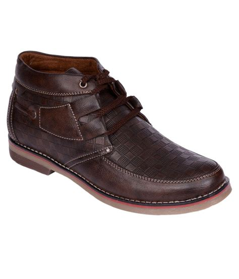 kalzado brown smart casual shoes price in india buy
