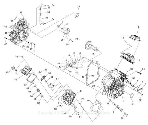 diagram common generac 005009 1 gtv990 parts diagram for block