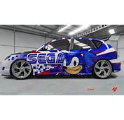 Forza 4 Sonic The Hedgehog Custom Car  YouTube