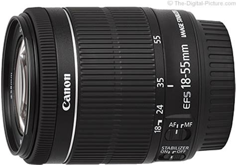 canon ef s 18 55mm f/3.5 5.6 is stm lens review