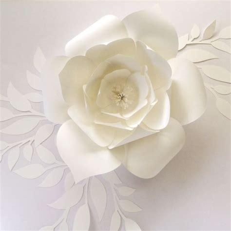 paper flower template diy template to create your own