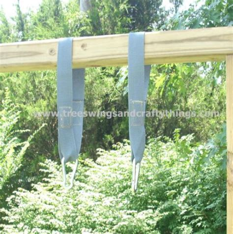 how to hang a swing from a tree without branches hanging your wood tree swing instructions