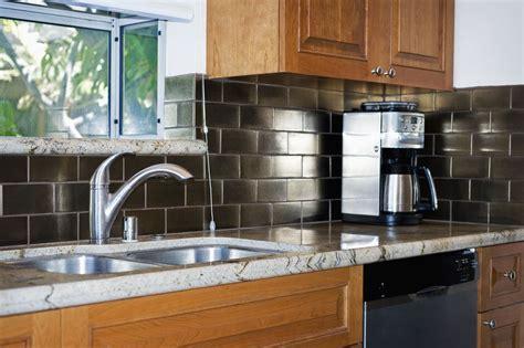 buying guide kitchen backsplashes peel and stick backsplash tile guide