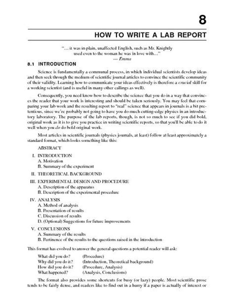 how to write a lab report exle electrical engineering