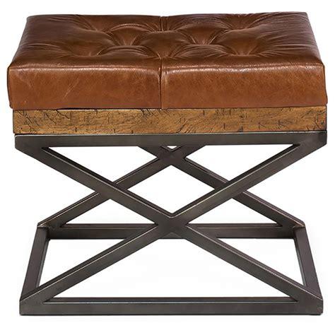brown bench cushion thomas modern classic brown leather cushion bench kathy