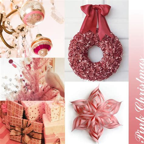 pink christmas decor luxury interior design journal