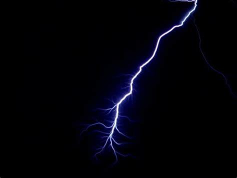 black blue electrical lightning strikes black background stock footage