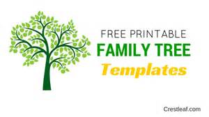 free family tree template printable 5 free family tree templates to print out right now