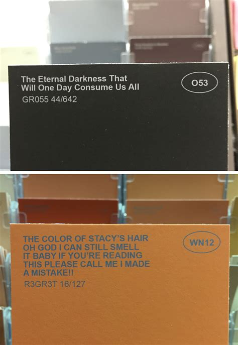 punny color name obvious plant adds clever names to ordinary paint