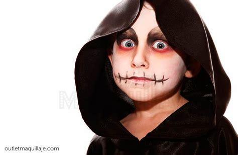 imagenes de halloween para pintar la cara maquillaje de halloween para ni 241 os instrucciones y videos