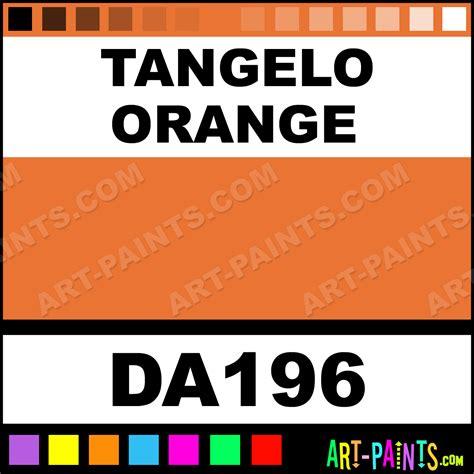 tangelo orange decoart acrylic paints da196 tangelo orange paint tangelo orange color