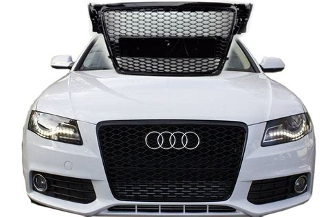 Audi A3 Sportback K Hlergrill Schwarz by Audi A4 B8 Rs S Line S4 Tuning 2009 12 Frontgrill