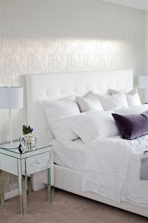 dazzling diy tufted headboard pegboard dsc08817 bedroom dazzling mirrored bedside table in bedroom transitional