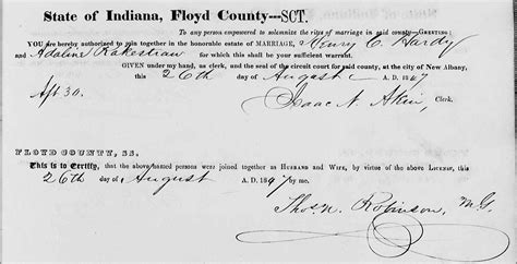 Floyd County Indiana Marriage Records Why Don T You Just Use Ancestry A Wise S Journey