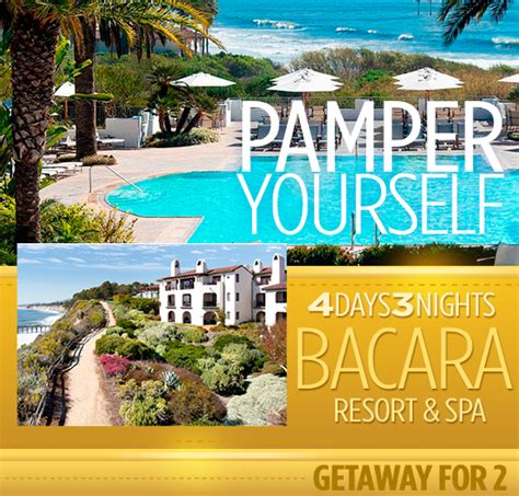 Santa Barbara Sweepstakes - santa barbara bacara resort and spa sweepstakes imagination soup