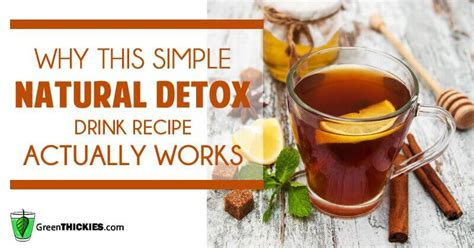 Do Herbal Detox Drinks Work by Why This Simple Detox Drink Recipe Actually Works