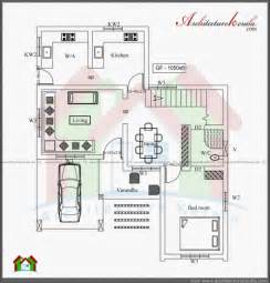 Kerala Style 3 Bedroom Single Floor House Plans 3 Bedroom Kerala House Plans House Floor Plans