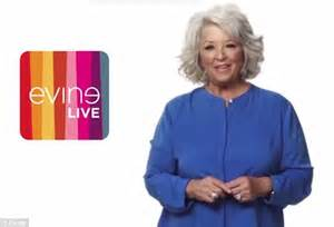 evine shopping channel i m back y all paula deen returns to cable tv with slot