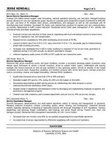 Facilities Operations Manager Sle Resume by Resume Logistics Sales Logistics Lewesmr