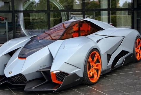 lamborghini single seat concept car named