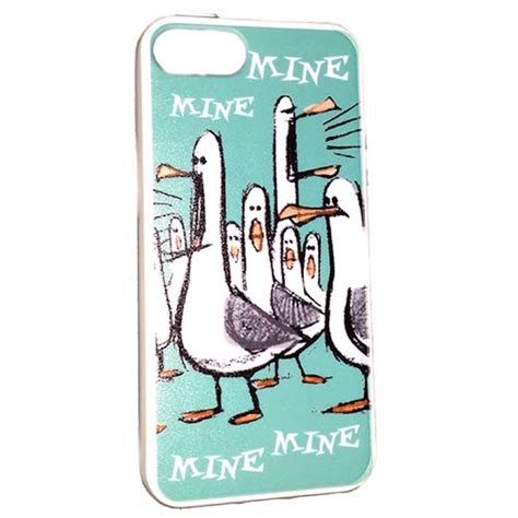 Finding Nemo Hardshell For Iphone 5c your wdw store disney iphone 5 finding nemo mine mine mine seagulls