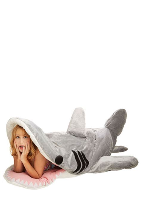 shark sleeping bag sea nic adventures sleeping bag in great white shark mod