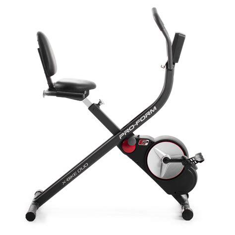 proform desk x bike exercise bike proform x bike duo exercise bike