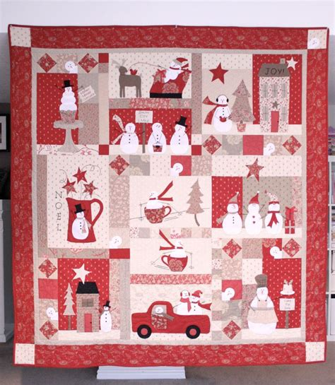 Bunny Hill Quilt Patterns by Snowman Quilt By Bunny Hill Designs Bunny Hill Quilts