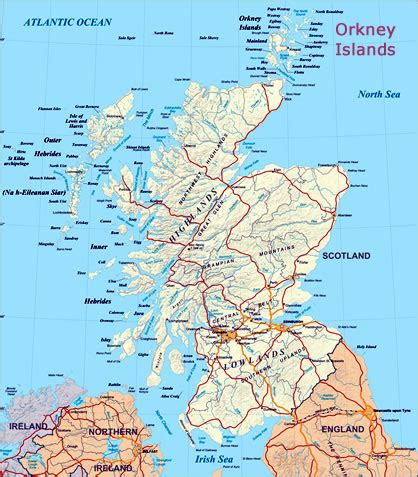 scotland mapping the islands 1780273517 map of orkney islands scotland my blog