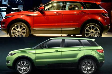 land rover chinese jaguar land rover criticise chinese car makers over fake