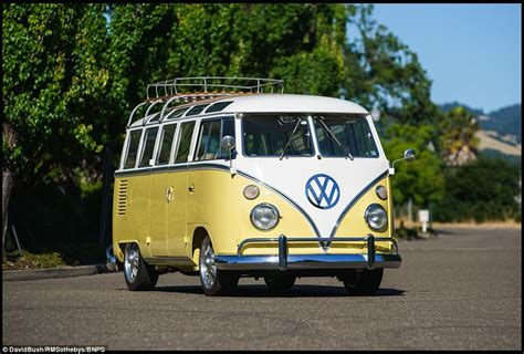 volkswagen van hippie for sale vw cer van expected to sell for six figures in ca