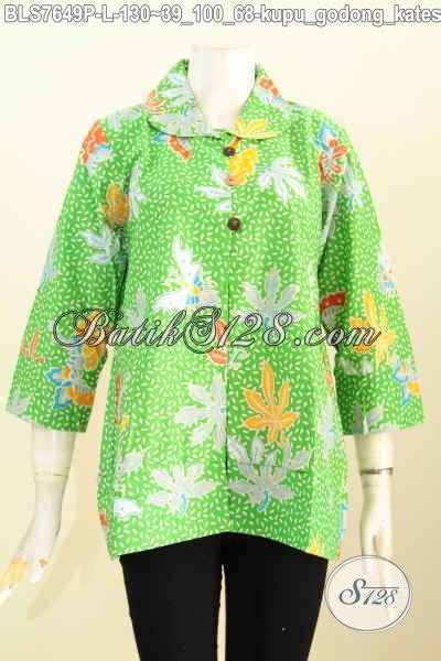 Pakaian Jaket Wanita Bunny Hijau shop pakaian batik wanita terlengkap sedia blus
