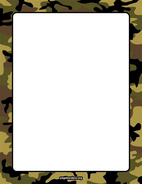 army pattern border free camouflage clip art cliparts co