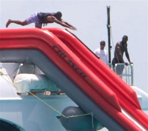 banana boat lebron lebron awkwardly saddled with wade paul on banana boat