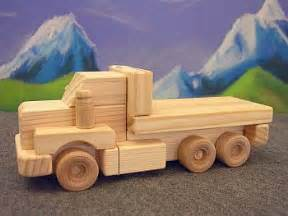 Build Wooden Toy Truck by Wooden Toys Tandem Flatbed Truck