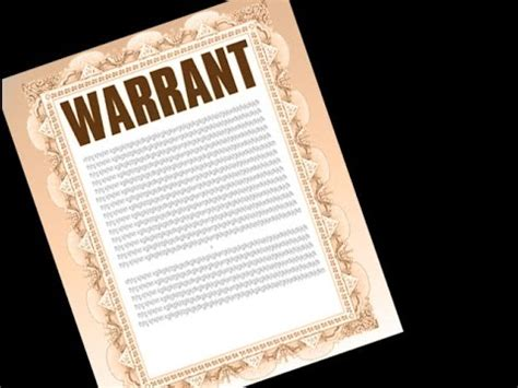 What Is Needed For A Search Warrant What Is Warrant
