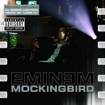 eminem mockingbird testo i testi delle canzoni dell album mockingbird di eminem mtv