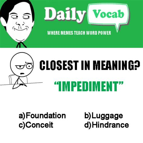 Meme Daily - vocab meme daily quiz 262 meaning in hindi with picture